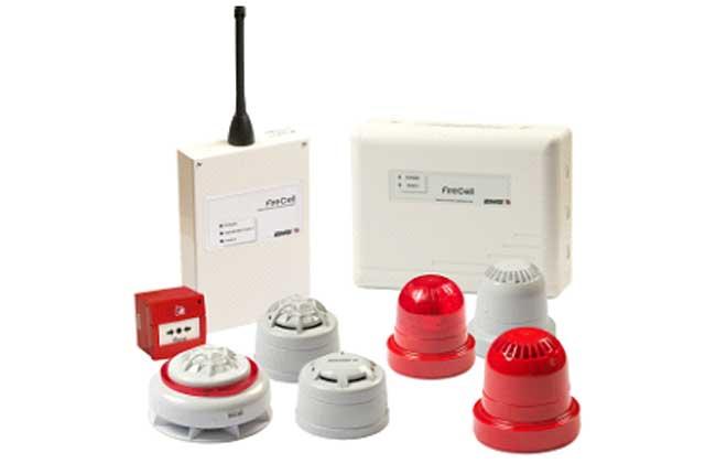 Hybrid Radio Fire System Components